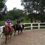 Semasa Latihan Berkuda